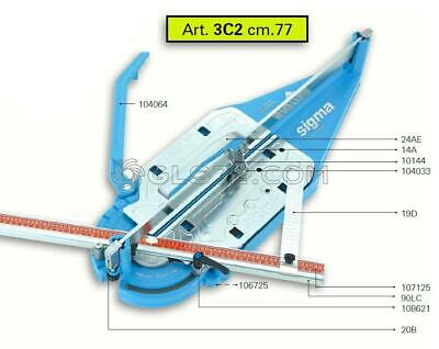 Spare Parts And Accessoires For Tile Cutter Sigma 3c2 • 63.54£