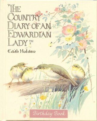 £19.99 • Buy Country Diary Edwardian Lady Birds Birthday Book Book The Cheap Fast Free Post