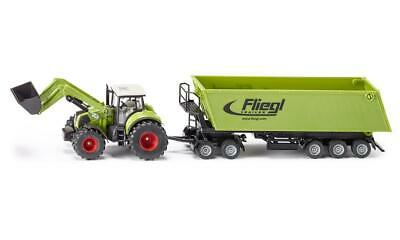 AU63.48 • Buy Tractor With Frontloader, Dolly And Tipping Trailer - 1:50 Scale - Toy Vehicle -