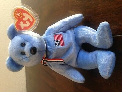 $450 • Buy America -beanie Baby-911 Memorial Bear