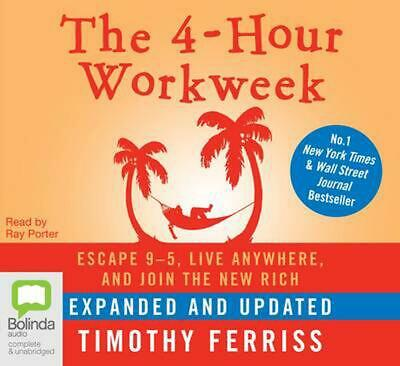 AU35.59 • Buy The 4-Hour Work Week:Escape 9-5, Live Anywhere, And Join The New Rich By Timothy