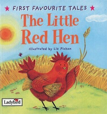 First Favourite Tales: Little Red Hen By Ladybird Hardback Book The Cheap Fast • 4.99£
