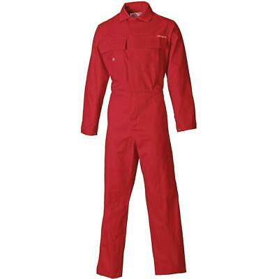 Dickies Proban Coverall Overall, Flame Retardant, Boiler Suit, Red FR4869 • 53.79£