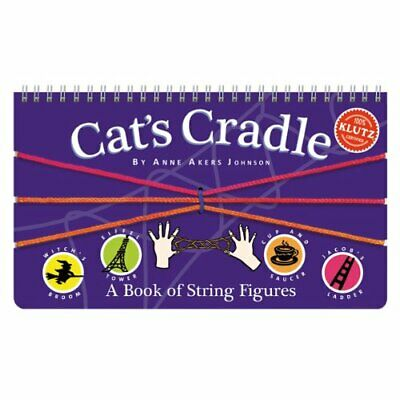 £6.99 • Buy Cat's Cradle: A Book Of String Figu... By Anne Akers Johnson Mixed Media Product