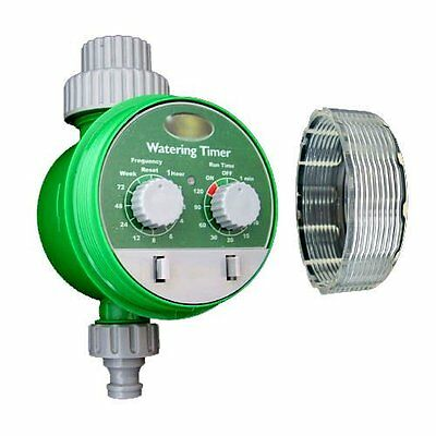 Automatic Electronic Water Timer Garden Hose Plant Watering Irrigation System • 99.99£