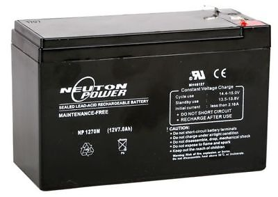 AU23.95 • Buy SLA BATTERY 12 Volt 7 Ah Quality At An AFFORDABLE Price - IDEAL FOR FISH FINDER