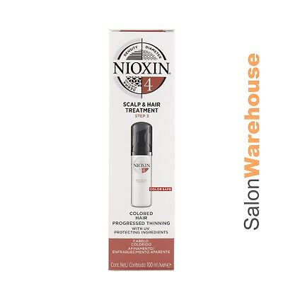 AU39.95 • Buy Nioxin System 4 Scalp And Hair Treatment 100ml  Packaging