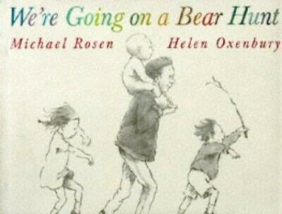 £5.49 • Buy We're Going On A Bear Hunt + Cd By Oxenbury, Helen Book The Cheap Fast Free Post