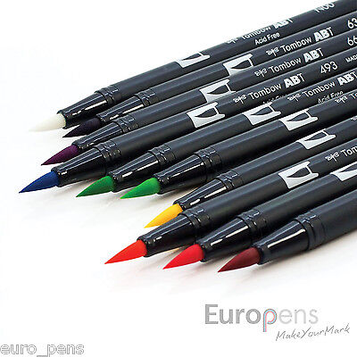 Tombow ABT Dual Brush Pen / Double Ended Artist & Craft Pens - Choose Colour • 3.89£