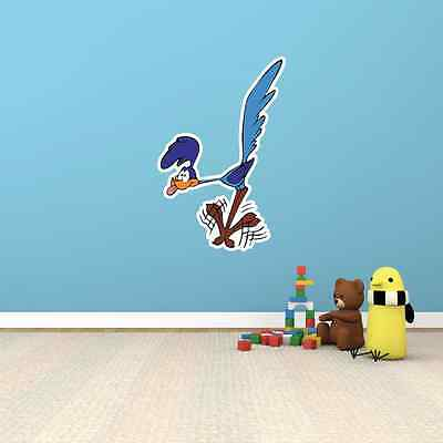 Road Runner Wile E. Coyote Cartoon Kids Room Wall Decor Sticker Decal 15 X25  • 14.30£