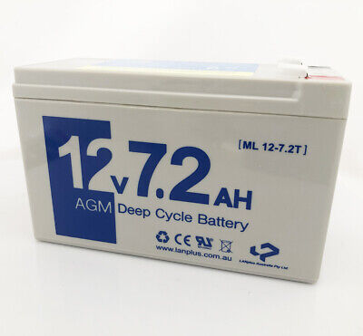 AU26.59 • Buy Replacement Battery VRLA SLA 12V 7.2AH 7AH For NBN Power Supply Backup Battery