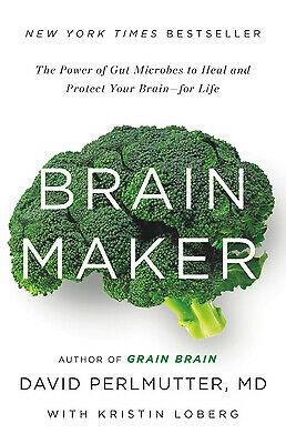 $4.10 • Buy Brain Maker : The Power Of Gut Microbes To Heal And Protect Your Brain For Life
