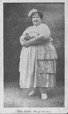 $ CDN26.05 • Buy Old Photo.  Circus Sideshow Freak Fat Lady - Miss Rosie