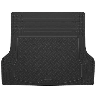 $28.90 • Buy Cargo Trunk Floor Mat Liner For Car SUV Truck All Weather Semi Custom Fit Black