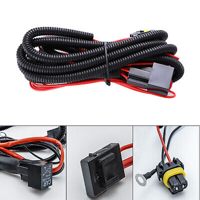 $11.26 • Buy 9005 9006 Relay Wiring Harness For Connector Cord Cable Add-On LED Fog Light DRL