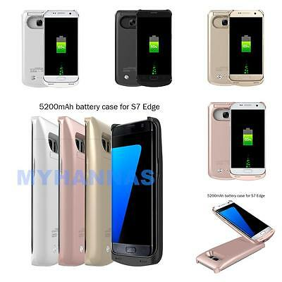 $ CDN32.87 • Buy Samsung Galaxy S7/S7 Edge Extended Battery Power Backup Charger Case Juice Cover