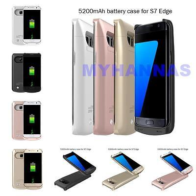 $ CDN36.94 • Buy Samsung Galaxy S7/S7 Edge Extended Battery Power Backup Charger Juice Case NEW