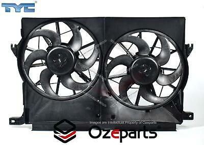 AU142.42 • Buy Ford Territory SX SY 2004~2011 Twin Thermo Radiator Fan With Motors