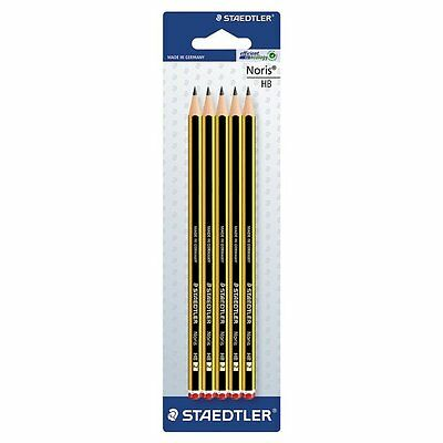 STAEDTLER Noris HB High Quality Pencils Pack Of 5 • 2.09£