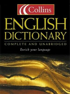 £5.49 • Buy Collins English Dictionary : Complete And Unabridged By Collins Hardback Book