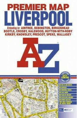 £13.99 • Buy Premier Map Of Liverpool (Premier Maps) Sheet Map, Folded Book The Cheap Fast
