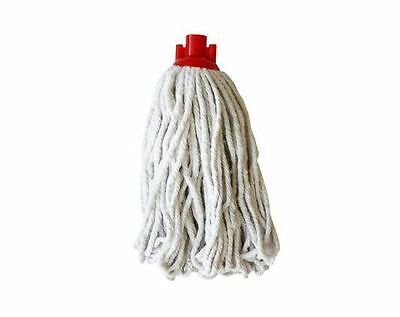£4.75 • Buy Plastic Head Cotton Yarn Dolly Mop Head Fits Traditional Broom Handles Kitchen