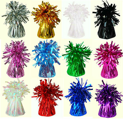 £7.80 • Buy  Foil Balloon Weights For Helium & Latex Balloons 12 Colours & Rose Gold/Rainbow