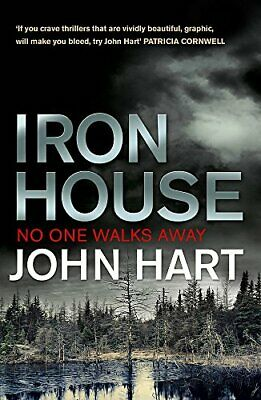 Iron House By Hart, John Book The Cheap Fast Free Post • 4.49£