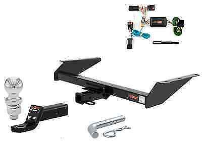 $246.44 • Buy Curt Class 3 Trailer Hitch Tow Package W/ 2  Ball For Jeep Liberty