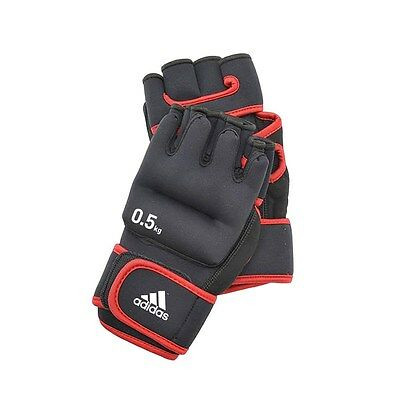 £25.99 • Buy Adidas Weighted Gloves 0.5kg Hand Weights Shadow Boxing Aerobics Training