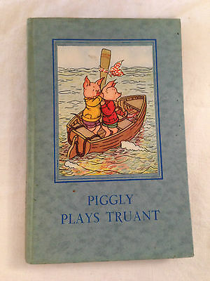 Vintage Ladybird Book, Series 401 - Piggly Plays Truant - 1949 - Scarce • 55£