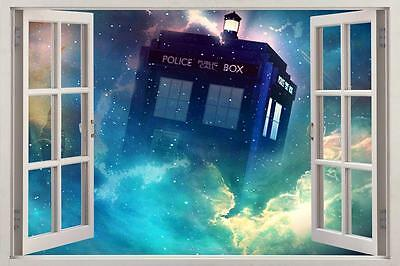 £19.99 • Buy Tardis Dr. Who 3D Window View Decal Graphic WALL STICKER Art Mural H257
