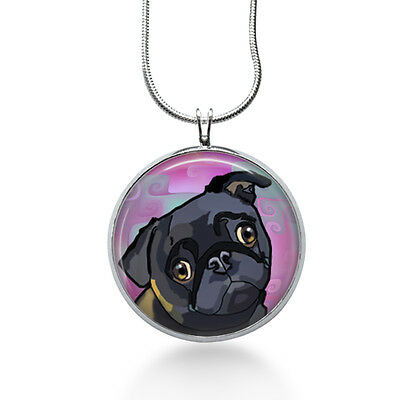 £13.13 • Buy Pug Dog Necklace - Animal Gift - Gifts For Her - Jewelry