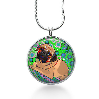 £13.13 • Buy Pug Necklace - Animal Gift - Gifts For Her - Jewelry