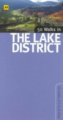 50 Walks In The Lake District By Bagshaw, Chris Paperback Book The Cheap Fast • 5.49£