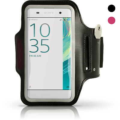 Running Jogging Sports Armband For Sony Xperia XA F3111 XA1 Fitness Gym Case • 1.99£