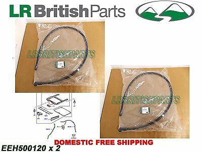 £19.43 • Buy Land Rover Sunroof Water Drain Front Tube Sport 05-13 Set Oem New Eeh500120