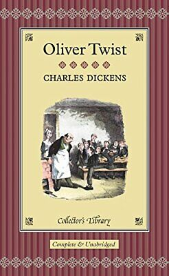 Oliver Twist (Collector's Library) By Dickens, Charles Hardback Book The Cheap • 2.99£