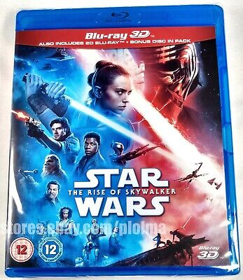 AU43.70 • Buy STAR WARS: THE RISE OF SKYWALKER New 3D + 2D BLU-RAY Set Episode IX 9 SHIPS NOW