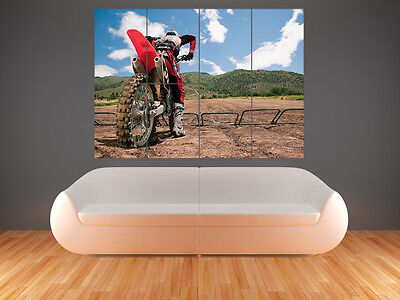 £17.99 • Buy Motocross  Large  Giant Wall  Poster