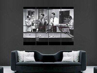 The Ratpack Classic Pool Vintage  Art Wall Large Image Giant Poster • 17.99£