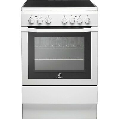 £339.96 • Buy Indesit 60cm Single Electric Cooker With Ceramic Hob - White