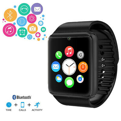 $ CDN39.27 • Buy 2-in-1 GSM Factory Unlocked Bluetooth Sync SmartWatch For Galaxy S6 Edge Note 4