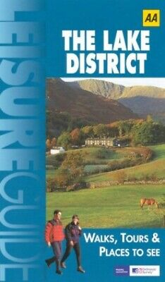 Lake District (Ordnance Survey/AA Leisure Guides) Paperback Book The Cheap Fast • 3.99£