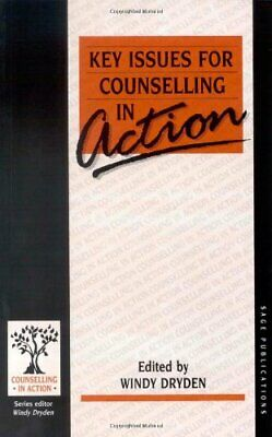 Key Issues For Counselling In Action (Counselling In Action Se... Paperback Book • 5.99£
