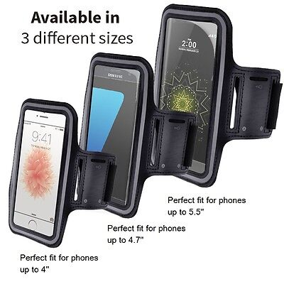 Sports Running Jogging Gym Armband Arm Band Case Cover For Mobile Phones • 3.49£