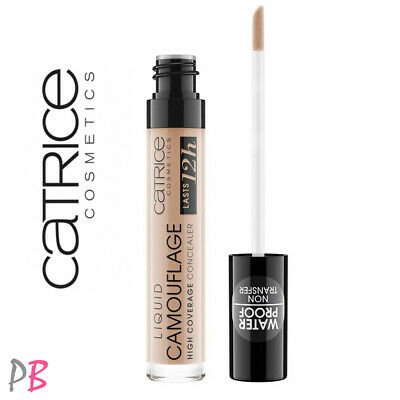 £5.79 • Buy Catrice Camouflage Liquid Concealer High Coverage Under Eye Long Lasting