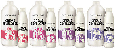 AFFINAGE DEVELOPER/PEROXIDE 250ML 4 Strenghs • 8.95£