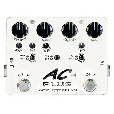 Xotic AC Plus Overdrive Boost Effects Pedal (NOS) • 142.75£
