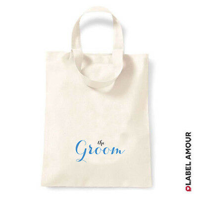 £2.79 • Buy Wedding Hen Party Favour Keepsake Gift Canvas Tote Bag Groom Page Boy Best Man